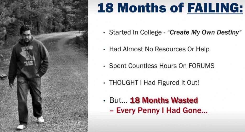 18 months failing