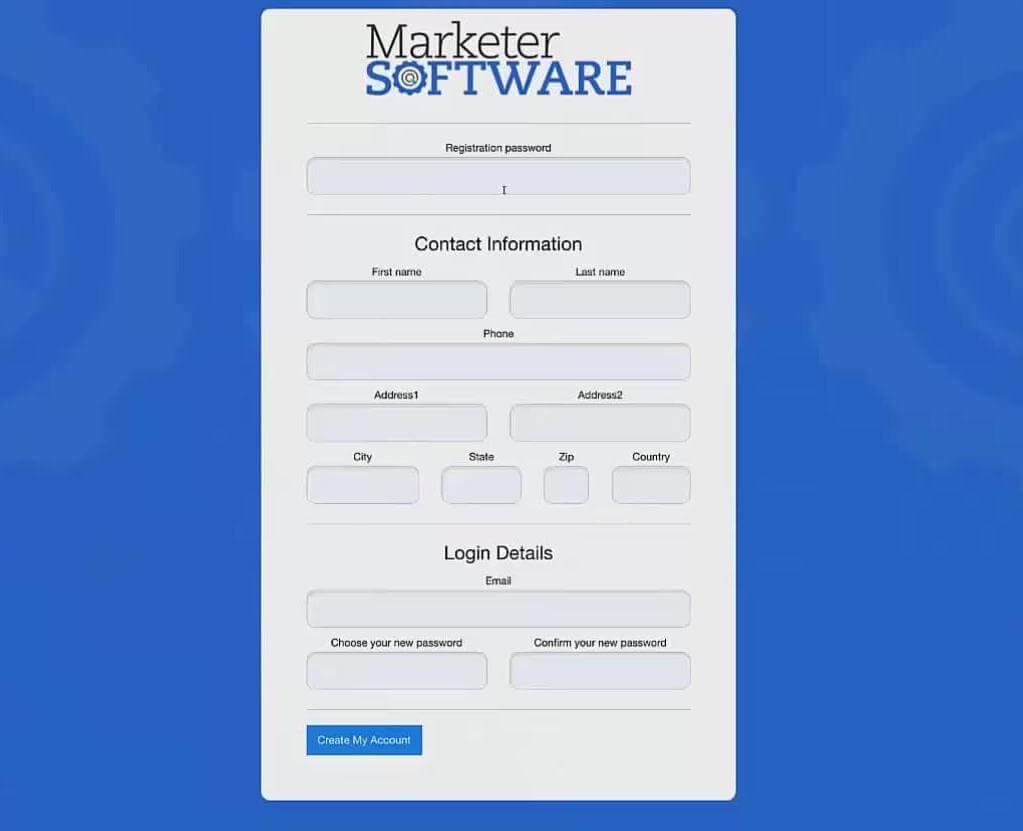 Marketer Software 1