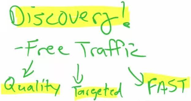 Discovery, Fast Free Targeted Quality Traffic