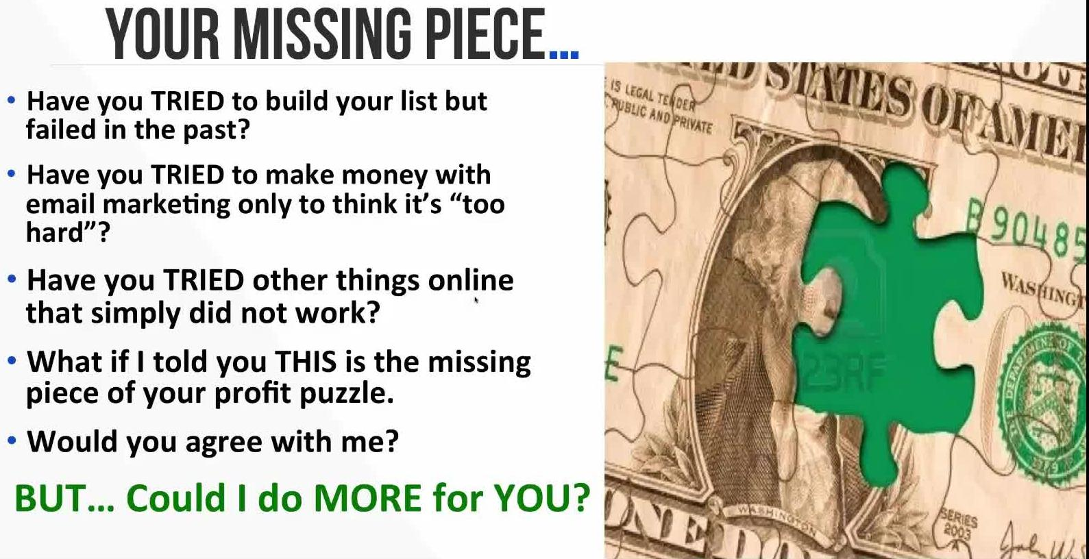 Your Missing Piece